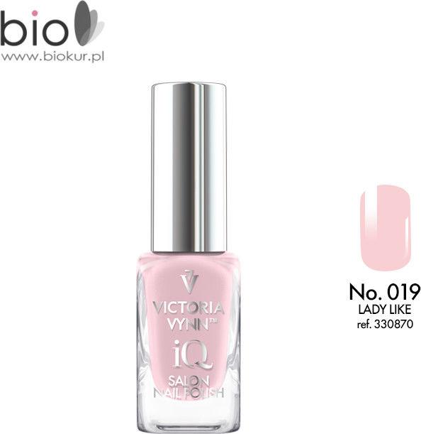 Lakier klasyczny Nail Polish iQ 019 LADY LIKE Victoria Vynn - 9 ml