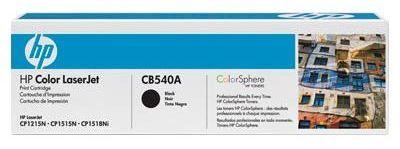 Toner HP Color LaserJet CP1215 Czarny CB540A