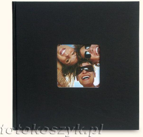 Album na zdjęcia wklejane Fun Duży Czarny (100 kremowych stron)