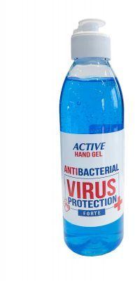 Żel dezynfekujący do rąk antybakteryjny 250 ml ACTIVE HAND GEL VIRUS