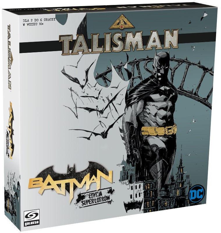Gra Talisman Batman Edycja Superłotrów