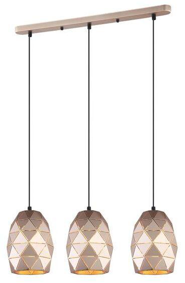 Lampa wisząca HARLEY MDM-3480/3 GD - Italux  Skorzystaj z kuponu -10% -KOD: OKAZJA