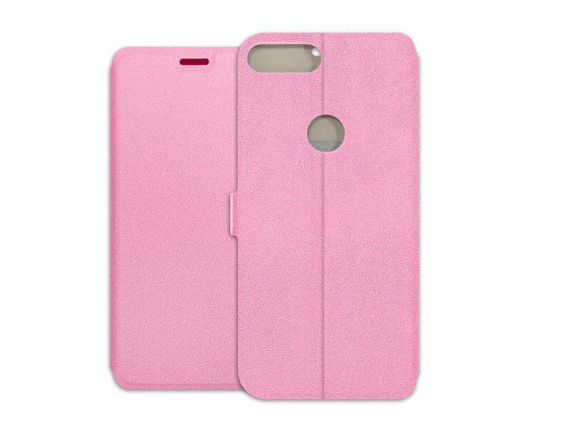 Alcatel 1S - etui na telefon Wallet Book - różowy