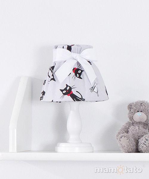 MAMO-TATO Lampka Nocna Kotki szare