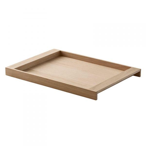 Skagerak NO. 10 Taca do Serwowania z Drewna Dębowego - Średnia