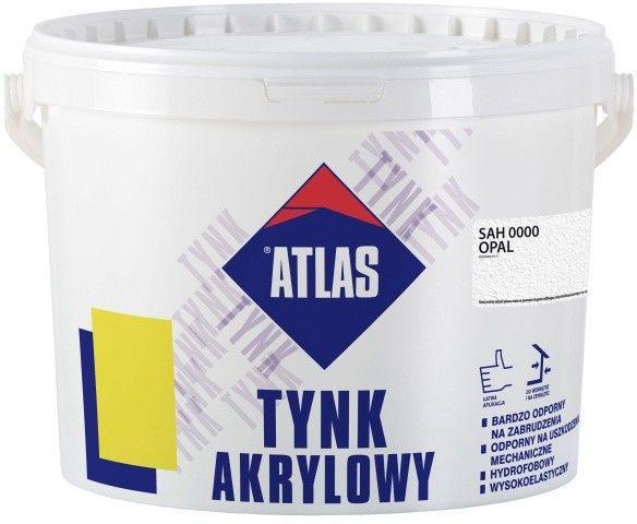 Tynk akrylowy Atlas SAH 0000 opal 25 kg