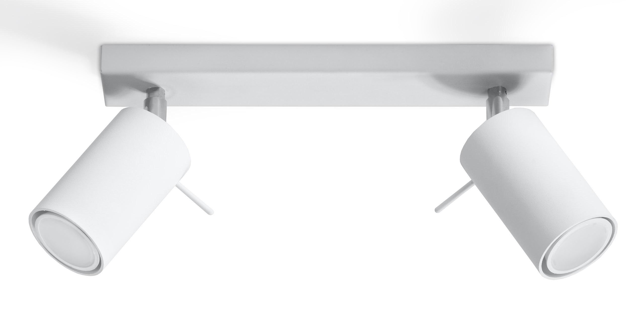 Lampa sufitowa RING 2 biały SL.0088 Sollux  SPRAWDŹ RABATY  5-10-15-20 % w koszyku
