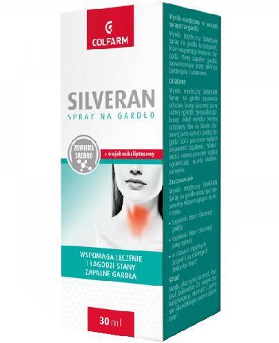 Colfarm Silveran spray do gardła 30 ml