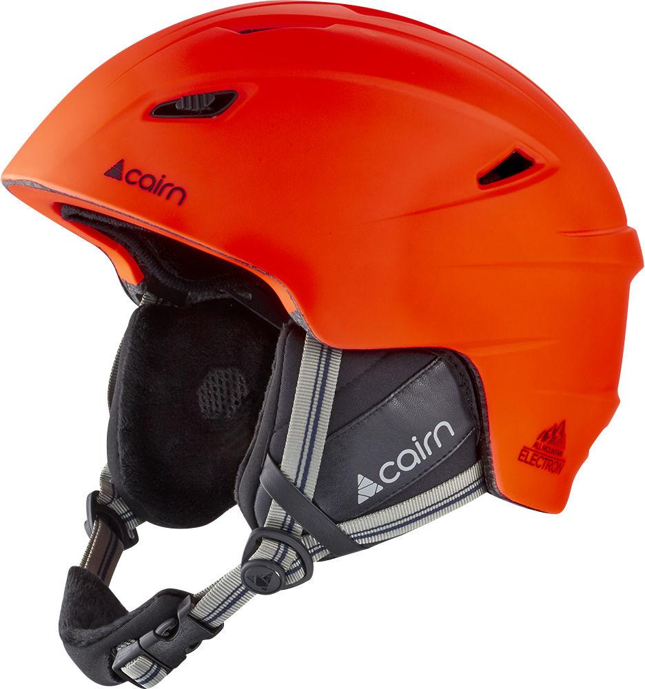 CAIRN kask zimowy narciarski/snowboardowy ELECTRON Fire Black Rozmiar: 57-58,060305025