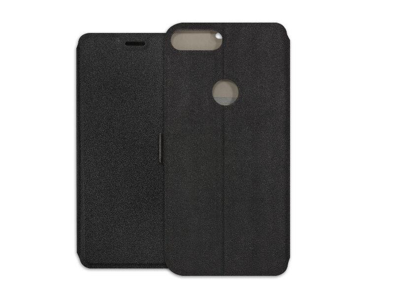 Alcatel 1S - etui na telefon Wallet Book - czarny