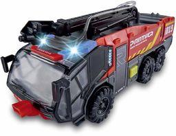 Dickie 203714012 strażacki samochód ciężarowy lotnisko  24 cm  światło i dźwięk  lanca wodna