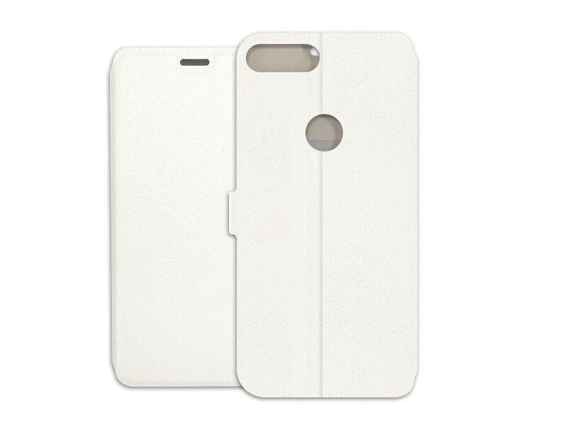 Alcatel 1S - etui na telefon Wallet Book - biały