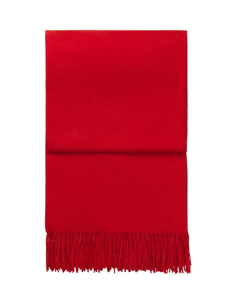 Pled wełniany Elvang Classic Red