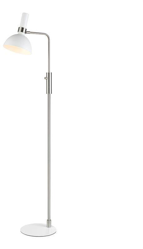 Lampa podłogowa Larry 107501 Markslojd biała nowoczesna oprawa stojąca