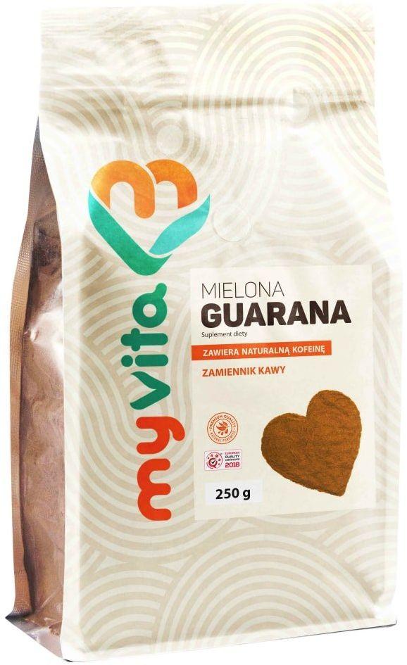 Guarana w proszku 250g Zdrowa Kofeina Myvita