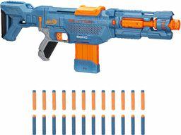 Nerf Elite 2.0 Echo CS-10 Blaster, 24 rzutki Nerf, klips 10 rzutek, zdejmowany zapas i przedłużenie beczki, 4 szyny taktyczne