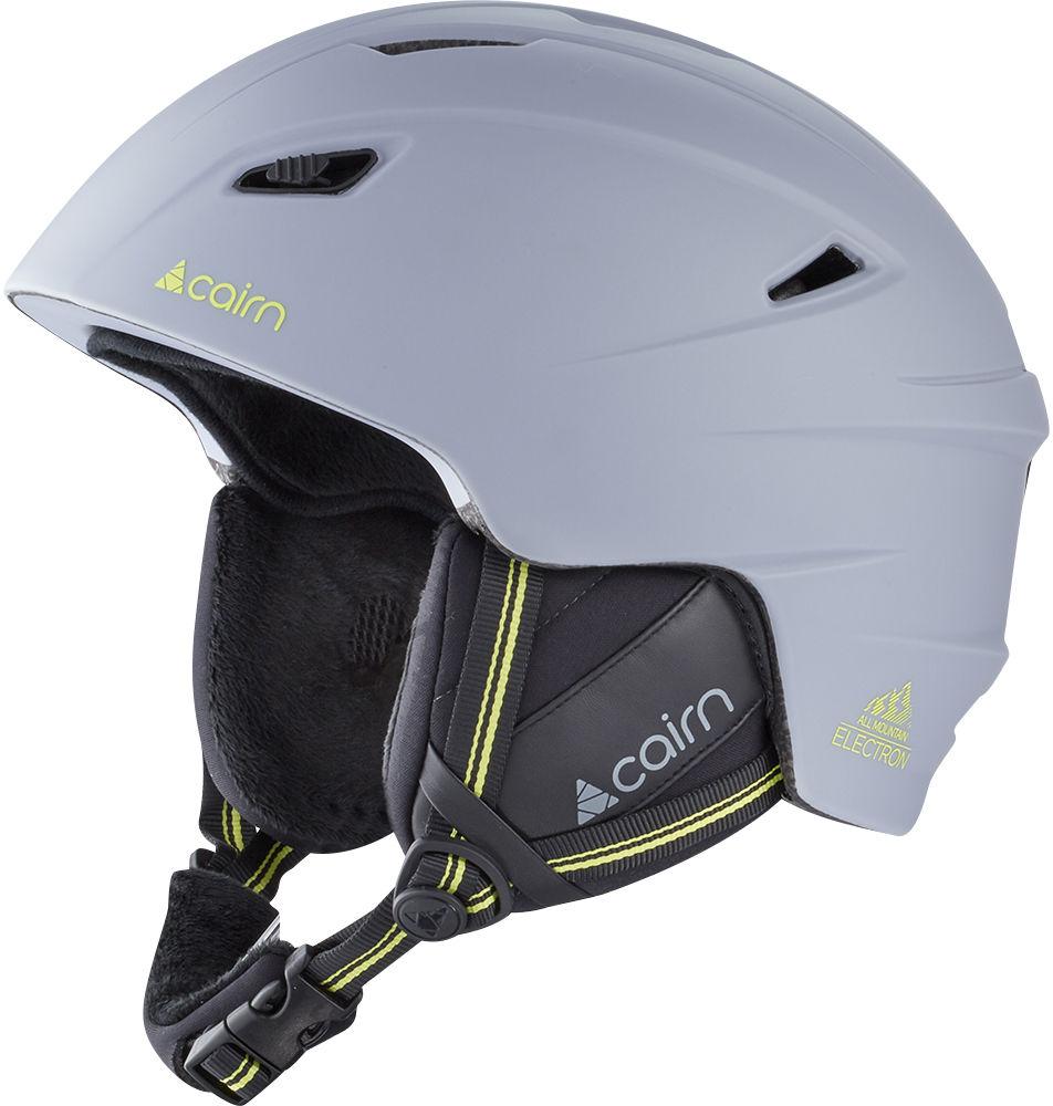 CAIRN kask zimowy narciarski/snowboardowy ELECTRON Pearl Lemon Rozmiar: 55-56,060305077