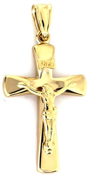 ZŁOTY KRZYŻ 333 WIZERUNEK JEZUSA NA PREZENT