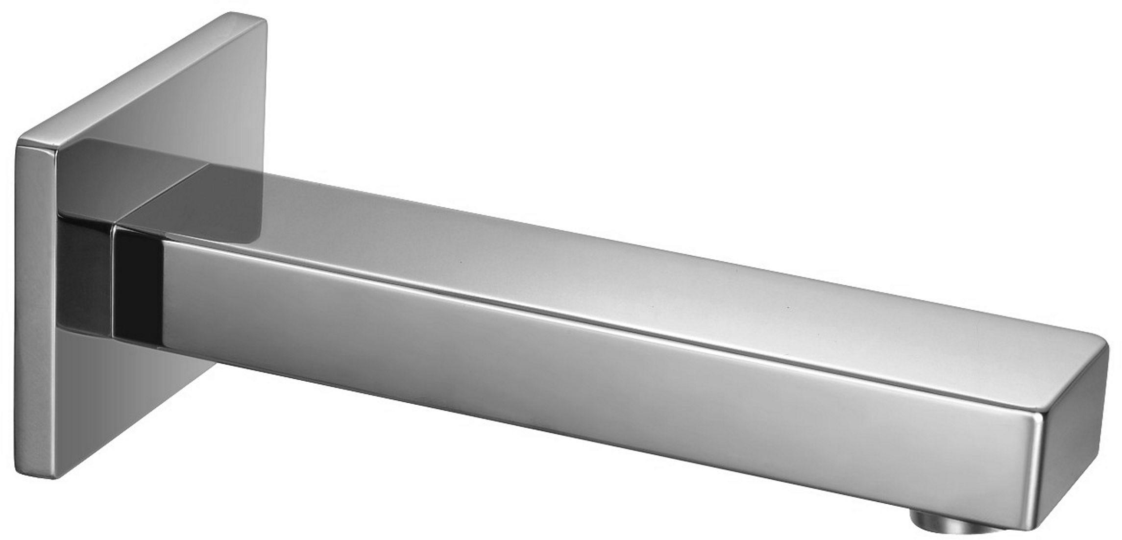 OMNIRES Wylewka naścienna mosiężna 18,5 cm chrom WD11CR