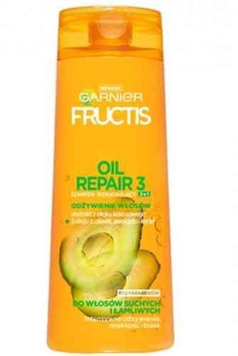 Garnier Fructis Szampon wzmacniający 2w1 Oil Repair do włosów suchych i łamliwych 400ml