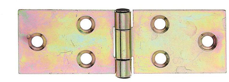 Zawias stołowy 81 x 26 mm przykręcany ocynkowany