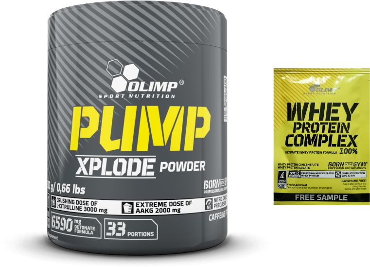 OLIMP Pump Xplode Powder - 300g Cola