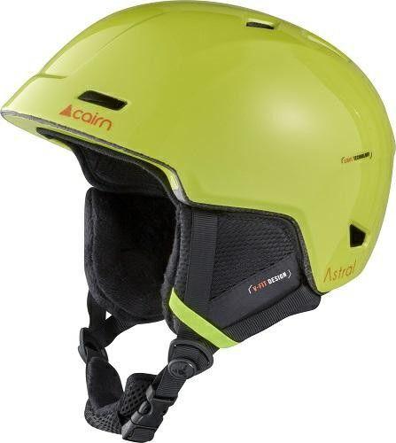 CAIRN kask zimowy narciarski/snowboardowy ASTRAL light green Rozmiar: 55-56,060614039
