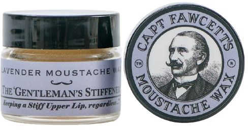 Captain Fawcett The Gentleman''s Stiffener Lavender wosk do wąsów 15 ml