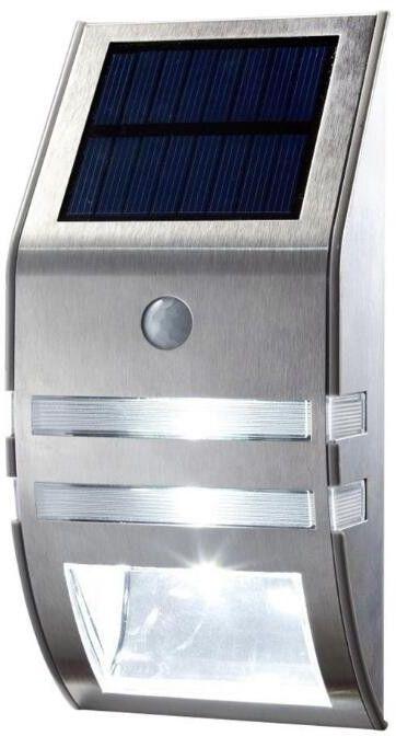Solarna lampa 2LED z czujką PIR i zmierzchu