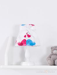 MAMO-TATO Lampka Nocna Ptaszki białe