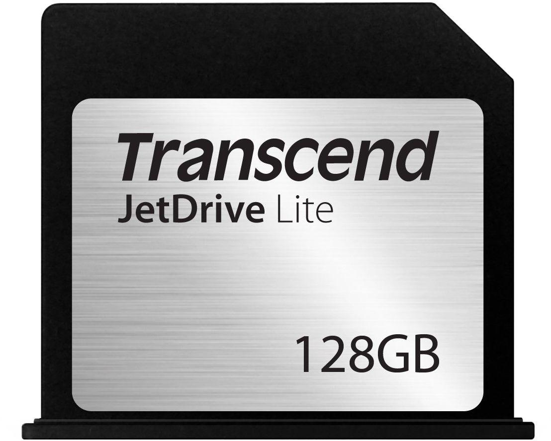 Transcend 128GB JetDrive Lite 130 Storage Expansion Card for 13-Inch MacBook Air 2010-2017 (TS128GJDL130) Czarny