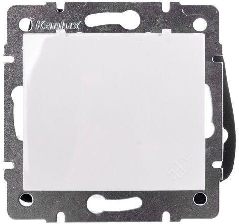 DOMO Gniazdo z uziemieniem IP44 Schuko śrubowe 16A 250V biały 011230102 24731