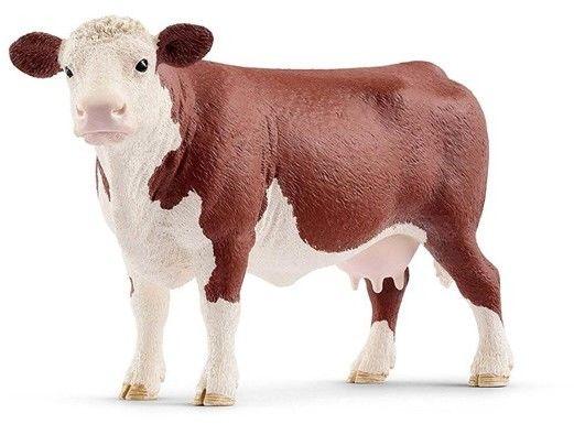 Schleich - Krowa rasy Hereford 13867