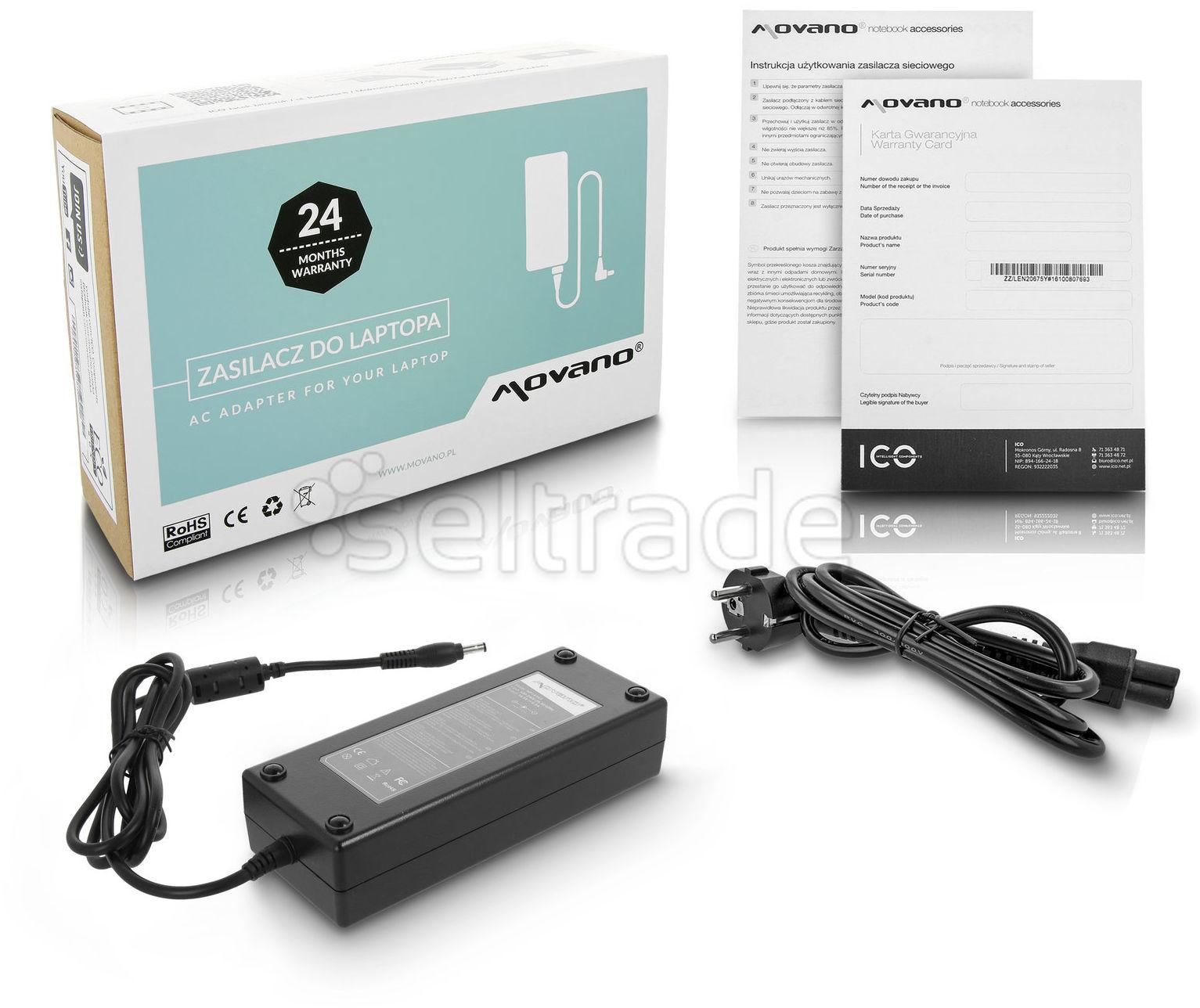 Zasilacz HP Compaq 316688 PPP017 zd7000 zd7010 18.5V 6.5A