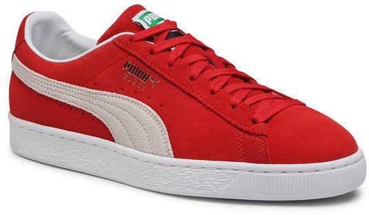 Sneakersy Suede Classic XXL 374915 02 Czerwony