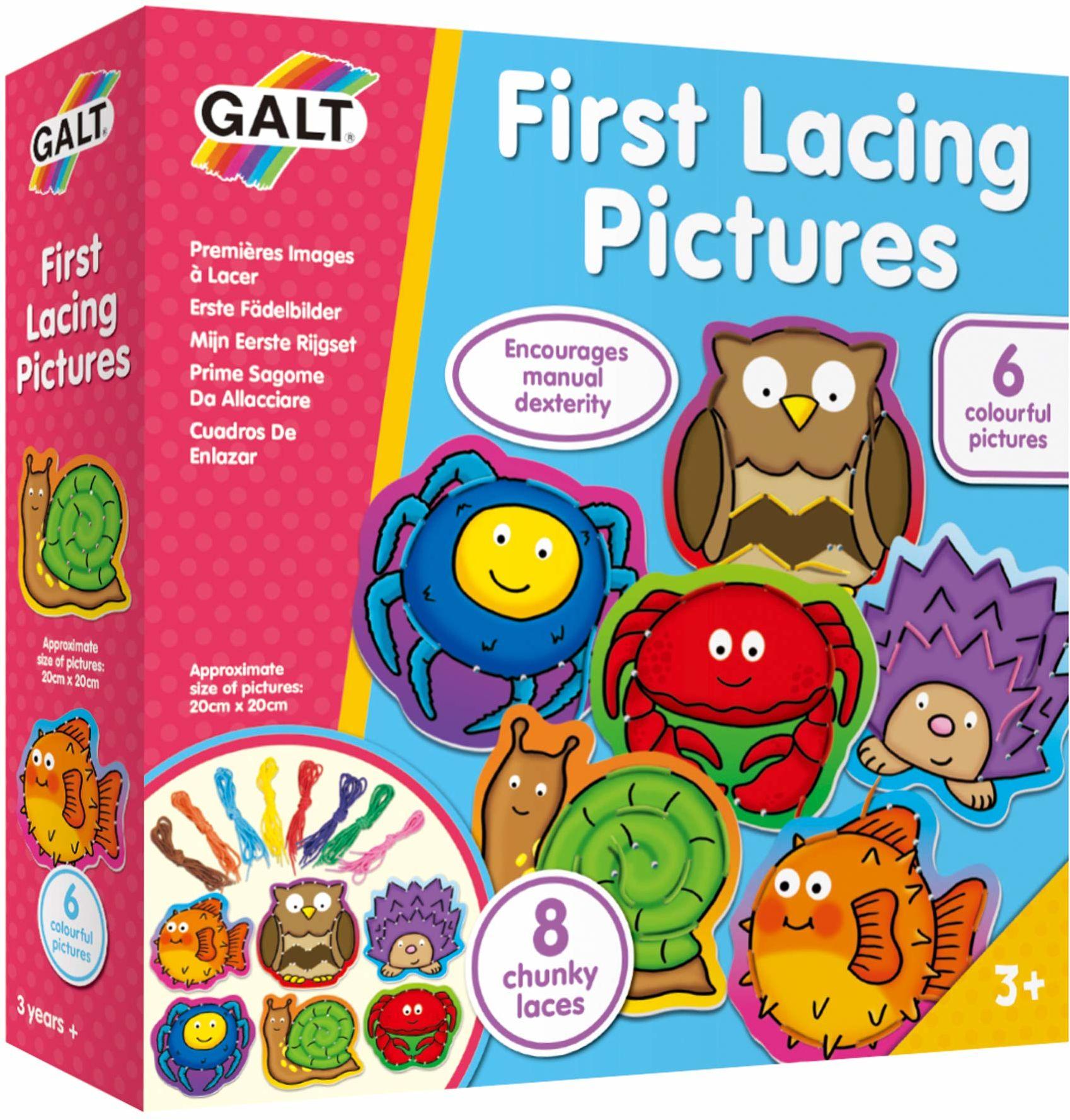 Galt Toys Pierwsze obrazki sznurowania