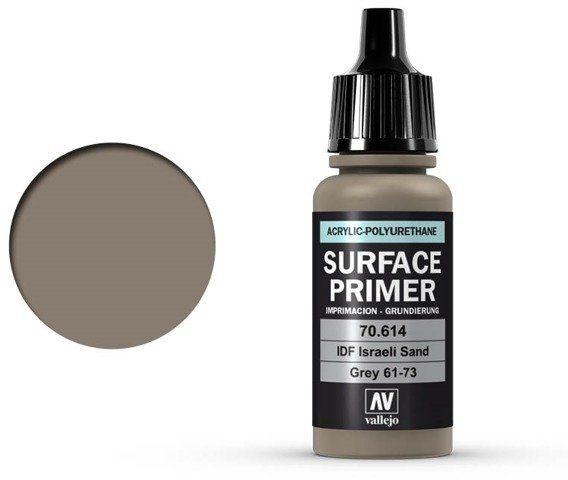 Vallejo Surface Primer / Podkład Akrylowy IDF Israelí Sand Grey 17 ml.