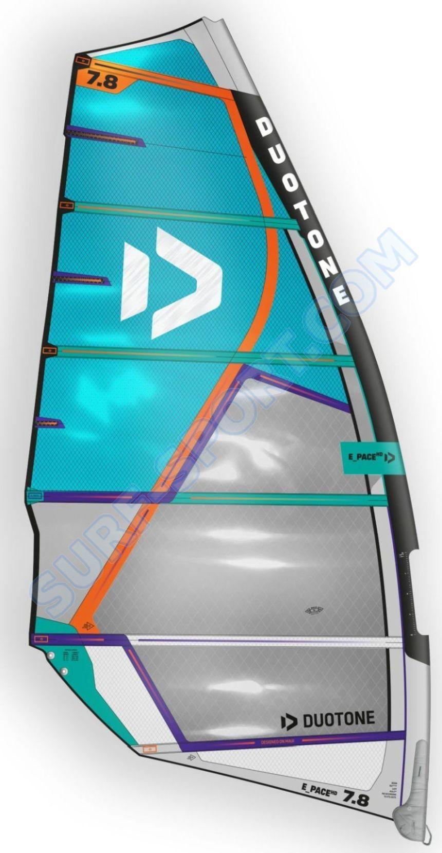 Żagiel Do Windsurfingu Duotone E-Pace HD 2021 C02:Blue-Off.White