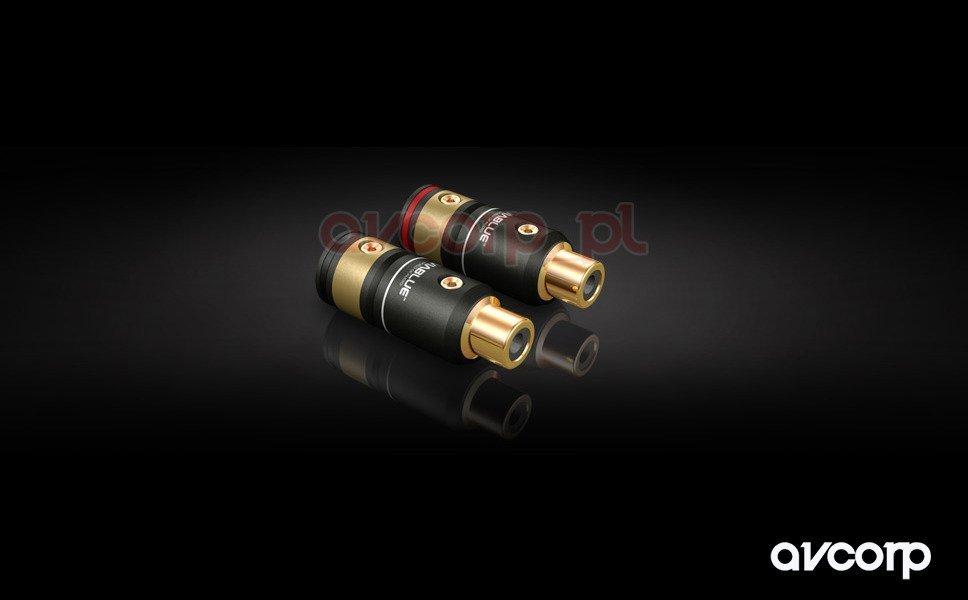 Viablue T6s RCA sockets - gniazda RCA na kabel