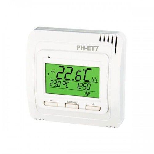 Bezprzewodowy termostat (nadajnik), zasięg do 35m
