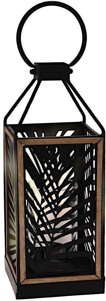 Lampion wiszący METALOWY latarnia świecznik do powieszenia 38 cm