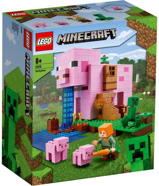 Klocki Minecraft 21170 Dom w kształcie świni