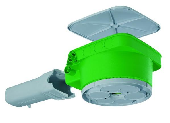 Obudowa HaloX-P z tunelem transformatora 226 x 226 x 133 mm