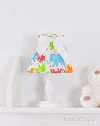 MAMO-TATO Lampka Nocna Słonie kolorowe