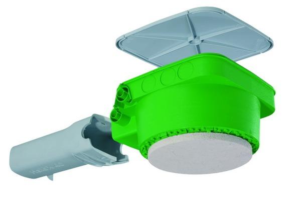 Obudowa HaloX-P z płytą mineralną i tunelem transformatora 226 x 226 x 133 mm