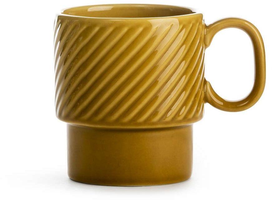 Sagaform - coffee - filiżanka do kawy 0,25 l, żółta