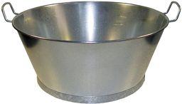 Wolfpack 5060006  wiadro łazienkowe ocynkowane, 55 x 23 cm, 38 l