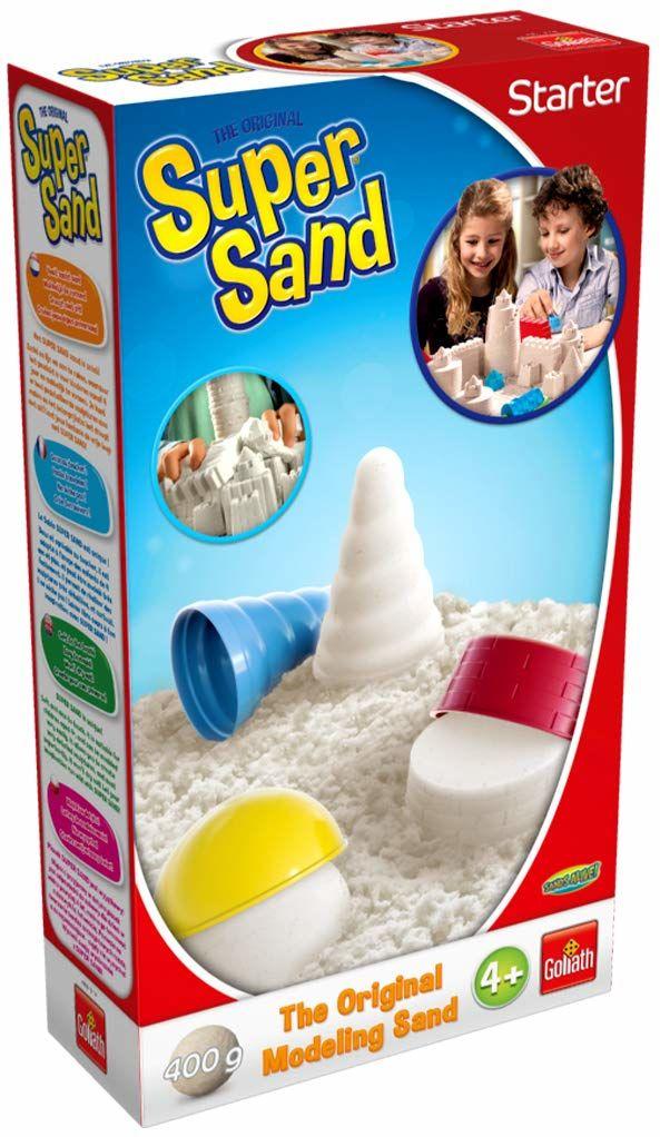 Goliath Toys 383318.012 Super Sand Starter 400 g, kolor biały