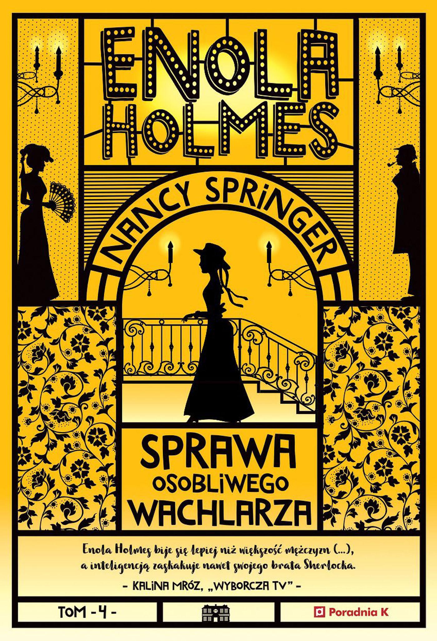 Enola Holmes. Sprawa osobliwego wachlarza - Nancy Springer - ebook
