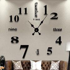 "Zegar ścienny ""zrób to sam"" cichy #02B2 / 320mm"